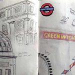 travaux d'élèves - séjour à Londres